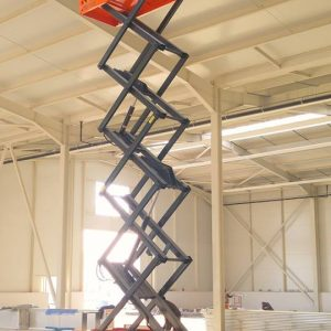 GTJZ06 - Self Propelled Scissor Lift
