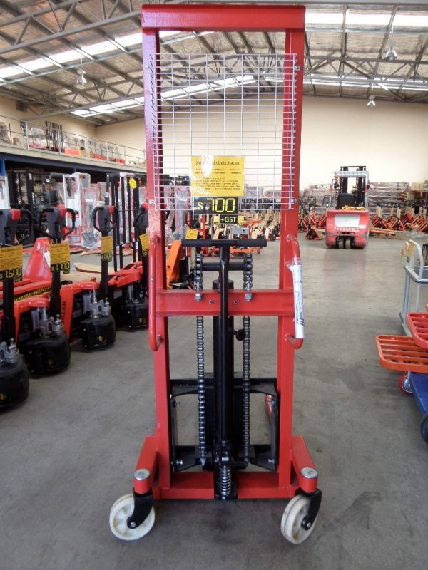 S10NL Light Duty Narrow Stacker 1Ton/1.6m