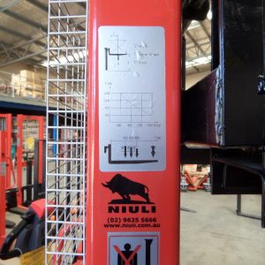 S15N Manual Narrow Stacker 1.5Ton/1.6m