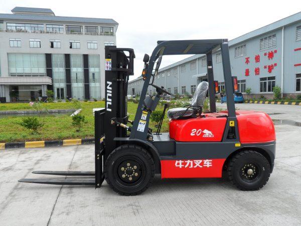NG20N 2Ton Dual Fuel Forklift