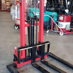 S15H Manual Adjustable Base Stacker 1.5Ton/1.6m